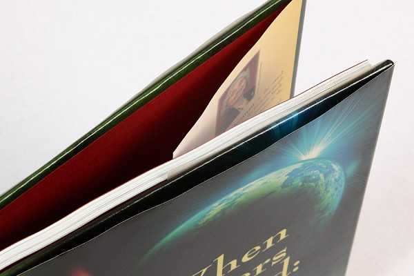 A case for hardcover binding